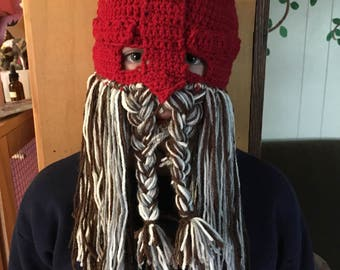 Dwarf Hat, with beard