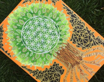 Rooted Flower of Life