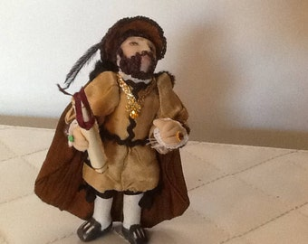 Henry 1/24th.scale art doll