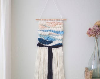 Beach Sunset wall hanging \\ Weave \\ MTO \\ woven wall hanging \\ tapestry