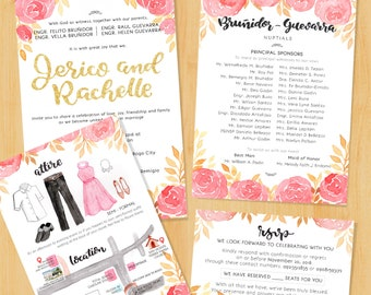 JR Wedding Invitation Suite