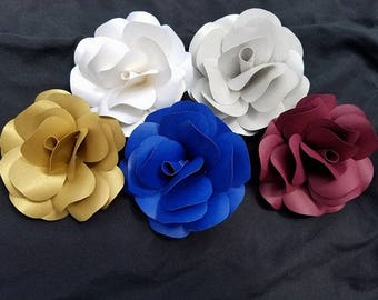 Individual Paper Flowers, Perfect for wedding or event decorations!