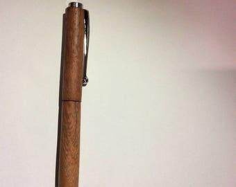 Handmade turned timber pen
