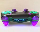 PS4 Custom Controller/GamepadJOKER Why So Serious? SE Illuminating Design