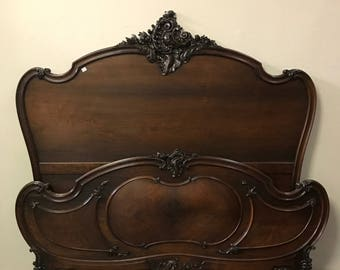 Louis XV Queen Bed
