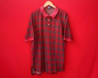 vintage polo ralph lauren large mens size shirt