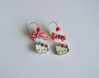 Hallo Kitty Earrings