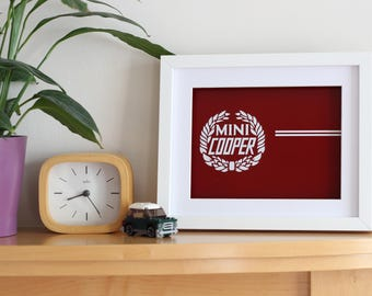 Mini Cooper Quarter Panel Decal