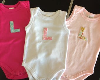 Personalised Baby Girl's Bodysuit