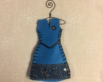 Organic Lavender Filled Sachet Dress, Blue