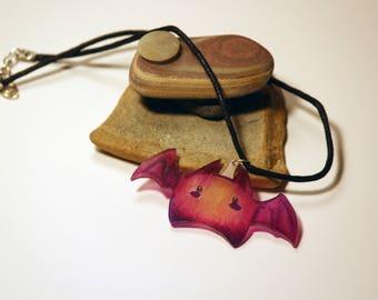Kawaii Bat Necklace