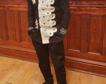 Akwasi embroidery shirt