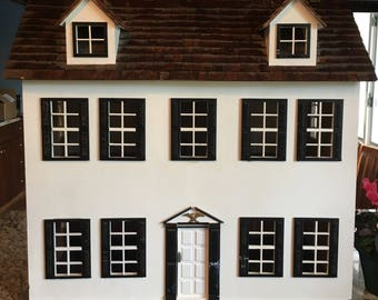 Antique 6-Room Dollhouse