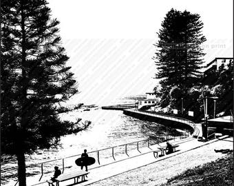 Dee Why Beach - Path to Pool