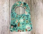 Baby Bib in Bug Catcher Fabric- Baby Gift- Gender Neutr...