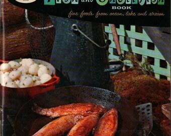 Good Housekeeping's Fish and Shellfish Book - Good Housekeeping Magazine - Selma Quateman - 1958 - Vintage Cook Book