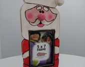 Santa picture frame Christmas gift