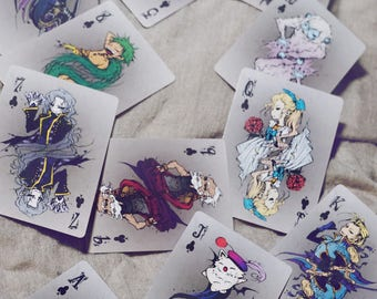 PRE-ORDER / Final Fantasy VI FF6 Playing Cards - Full Deck