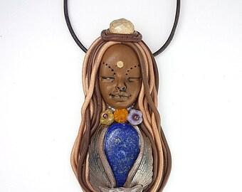 Owl Totem Necklace - Owl Totem Pendant - Animal Totem - Shaman Necklace - Spirit Animal - Animal Medicine - Owl Totem - Owl Jewelry - Spirit