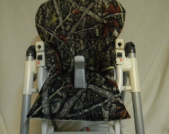 Prima Pappa Diner And  More High Chair Cover In Camouflage  See Description