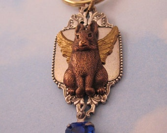 Rabbit Memorial Keychain.Bunny Rabbit Angel Sympathy Gift Remembrance Keepsake Gifts for Women/Her Key Chain Purse Jewelry Gold Silver Lapin