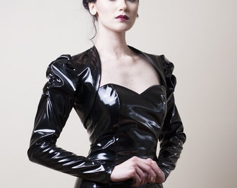 Victorian PVC Shrug/Bolero with Long Sleeves-Made to order