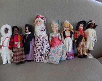 Classic 1960's Historic Fashion Dolls