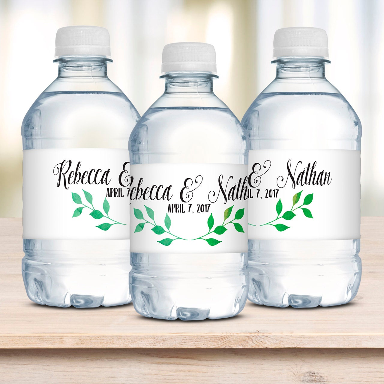 wedding water bottle labels waterproof labels wedding With diy waterproof labels for water bottles