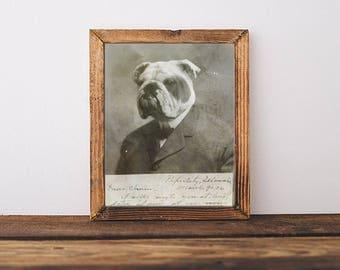 Bulldog Art, English Bulldog Art, 8x10, English Bulldog, Dog Art, Bulldog Print, Bulldog, Bulldog Nursery, Dog Memorial, Bulldog Poster