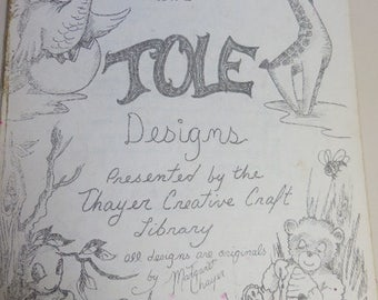 Vintage Toll Pattern Book