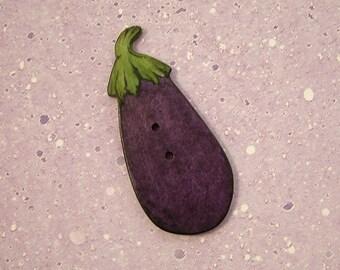 Eggplant Button