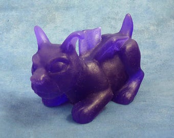 Purple Puppercabra - Resin Creature Sculpture