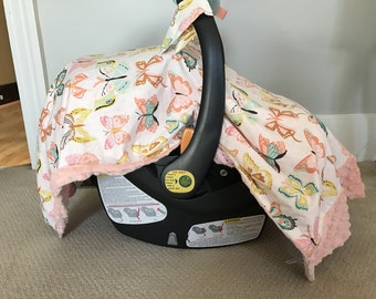Car Seat Cover with Straps