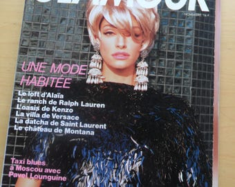 Glamour November 1990 - French edition