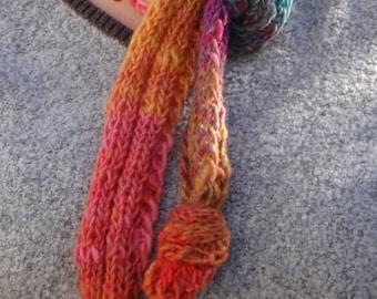 Colorful Warm Noro Yarn Scarf