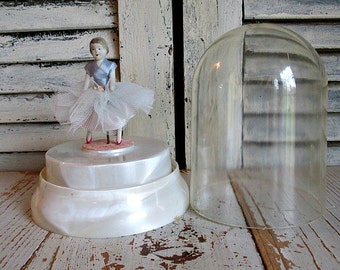 ViNTaGe REUGE SWiss DaNCiNG BaLLeRiNa MuSiC BoX!