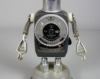 GOSSEN  Found Object  Robot Sculpture Assemblage