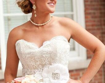 Bridal earrings, Crystal Earrings, Wedding earrings, Bridal jewelry, Chandelier earrings, Long earrings, Statement earrings Rose gold ASHLYN