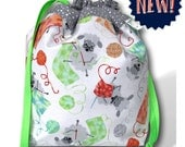 Granny Sheep Knitting - NEW! One Skein Project Bag for Knitting, Crochet, or Cross Stitch