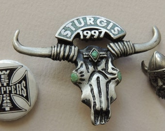 STURGIS 1997, West Coast Choppers and Viking Pin
