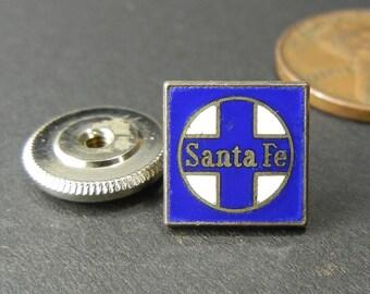Santa Fe Small Lapel Pin - Atchison, Topeka and Santa Fe Railway