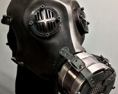 Gas Mask - War - Black