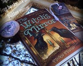 The Witch's Mirror, The Craft, Lore, & Magick of the Looking Glass by Mickie Mueller, Free Bookmark and Button Mirror Included