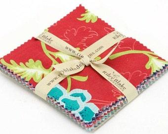 """La Vie Boheme 5 inch Stacker-Riley Blake Designs """"La Vie Boheme"""" by The Quilted Fish. 100% cotton"""