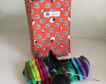 Pidgeons - knitting project bags