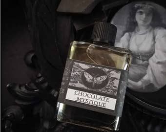 Chocolate Mystique Gypsy Gothic Natural  Perfume Oil 1/2oz  Cocoa, Chocolate, Coffee, Cardamom, Vanilla ,Sandalwood,