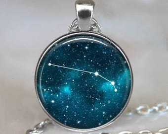 Aries Constellation necklace, Aries necklace Aries pendant constellation jewelry constellation key chain Zodiac constellation Zodiac jewelry