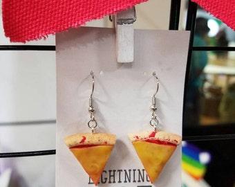 Cheese Pizza Earrings