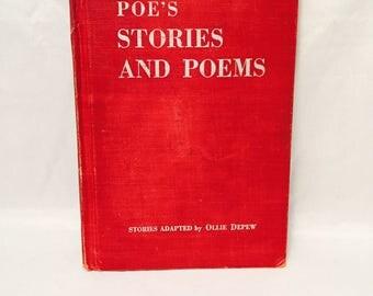 Poe's Stories And Poems, Ollie Depew, Hardback, Illustrated