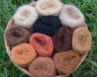 DollyMo Straight Brushable Mohair Yarn - Doll Making Dolly Mo